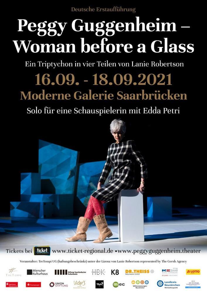 Peggy Guggenheim - Woman before a Glass (Unterhaltung / Freizeit | Saarbrücken)