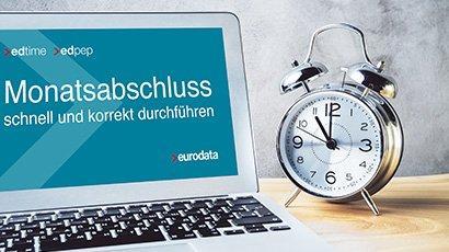 Monatsabschluss schnell und korrekt durchführen - für edpep und edtime Anwender (Webinar   Online)